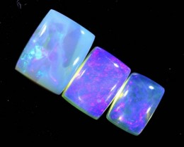 4.6CTS CRYSTAL OPAL POLISHED PARCEL 3PCS TBO-7127