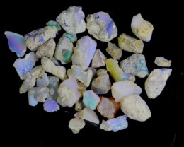 140.5Cts Ethiopian Welo Rough Opal Parcel Lot