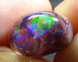 4.5ct Natural Mexican Matrix Cantera Multicoloured Fire Opal