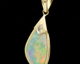 Solid Light-Crystal Opal Pendant 2.05ct (LP151)