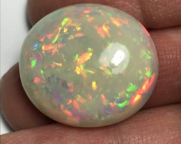 41.8ct Chaff/Puzzle Patterns Brilliant 5/5 Welo Ethiopia Opal Cab.