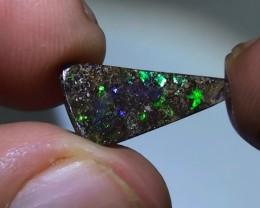 3.25 ct Boulder Opal Natural Gem Blue Green Color