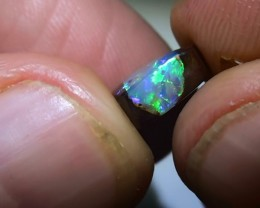 3.90 ct Boulder Opal Pipe Gem Blue Green Color