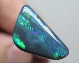 4.40Ct Lightning Ridge Black Opal stone