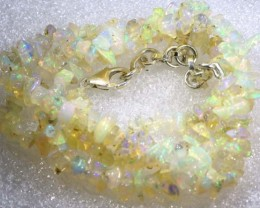 36.4CTS CHIPS OPAL BEADS STRANDS FOB-1084