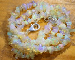 52CTS CHIPS OPAL BEADS STRANDS FOB-1088