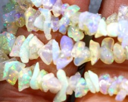 52.2CTS CHIPS OPAL BEADS STRANDS FOB-1089