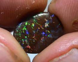 2.95 ct Koroit Boulder Opal Matrix With Gem Multi Color