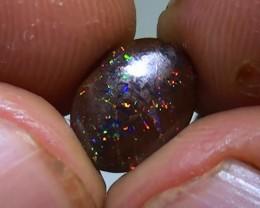 2.45 ct Koroit Boulder Opal Matrix With Gem Multi Color