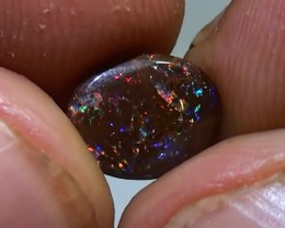 1.60 ct Koroit Boulder Opal Matrix With Gem Multi Color