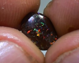 1.55 ct Koroit Boulder Opal Matrix With Gem Multi Color