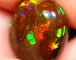 11.28Ct Magnificent Palette Multi-color Ethiopian Welo Specimen Crystal Opa