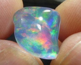 4.0 ct Top Mexican Crystal Fiery Opal Water Teransparent