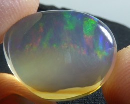 14ct Mexican Crystal Fiery Opal Water Teransparent