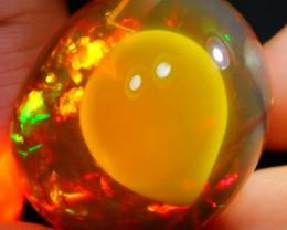 90.43Ct ContraLuz Phantom Ghost Ethiopian Welo Specimen Crystal Opal