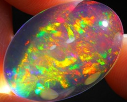 19.81Ct Gorgeous Rainbow ContraLuz Ethiopian Welo Specimen Crystal Opal