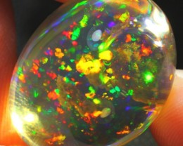 19.14Ct ContraLuz Splash Ethiopian Welo Specimen Crystal Opal