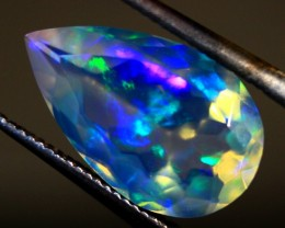 Faceted Wello Opal Cts 1.60   RD446