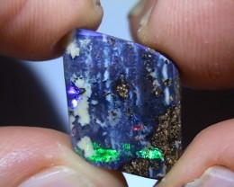 6.65 ct Beautiful Multi Color Natural Queensland Boulder Opal