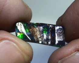 3.15 ct Gem Bright Multi Color Natural Queensland Boulder Opal