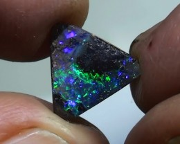 2.35 ct Boulder Opal Natural Gem Blue Green Color