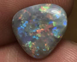 3.86ct Lightning Ridge Gem Semi Black Opal LR313