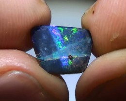 2.50 ct Beautiful Multi Color Natural Queensland Boulder Opal