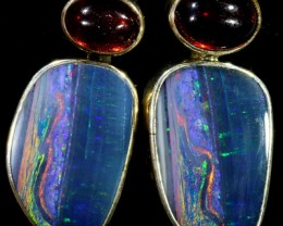 43.25 CTS OPAL DOUBLET WITH GARENT [SOJ5831]