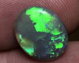 4.28ct Lightning Ridge Gem Crystal Opal LR331