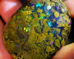 107.21Ct Beautiful Scenic Inclusion Ethiopian Welo Specimen Crystal Opal