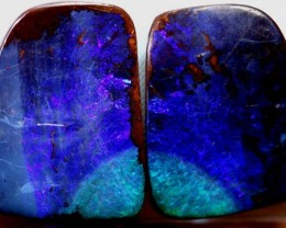102.7CTS QUALITY BOULDER OPAL POLISHED STONE INV-940