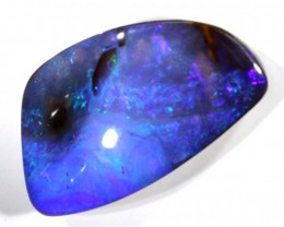 18.4CTS QUALITY BOULDER OPAL POLISHED STONE INV-756