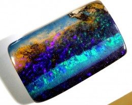 27.5CTS QUALITY BOULDER OPAL POLISHED STONE INV-764