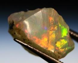 Cts 2.20   RD 390    .Rough Ethiopian Wello Opal   ~ Gem Grade -