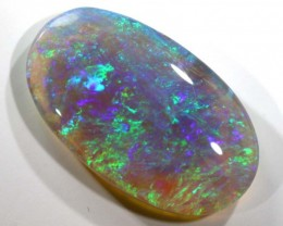 N7 -  5.2CTS QUALITY SEMI DARK SOLID OPAL LIGHTNINGRIDGE INV-773