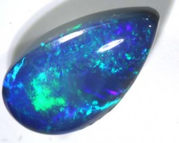 N3-  1.99CTS QUALITY BLACK SOLID OPAL LIGHTNINGRIDGE INV-777