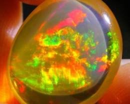 8.44Ct ContraLuz Phantom Ghost Ethiopian Welo Specimen Crystal Opal