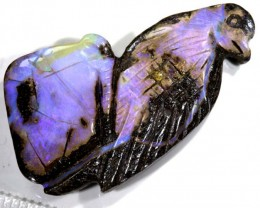 38.70 CTS BOULDER OPAL CARVING  LO-4254
