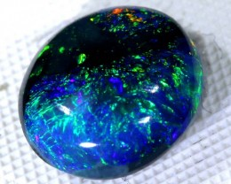 N2 -  2.25CTS QUALITY BLACK SOLID OPAL LIGHTNINGRIDGE INV-780