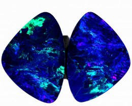16.11 CTS DOUBLET OPAL PAIR  [SO9268]safe