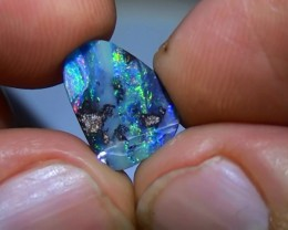 2.75 ct Boulder Opal With Gem Multi Color