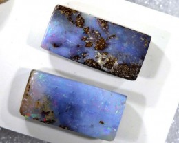 19.4CTS BOULDER OPAL PAIRS TBO-7215