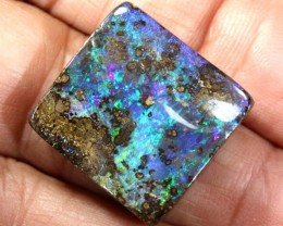 34 CTS QUALITY BOULDER OPAL POLISHED STONE INV-803