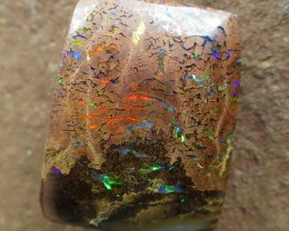"15cts.""BOULDER MATRIX OPAL~QUALITY GEM"""