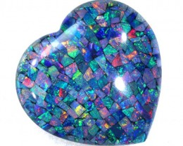67.30 CTS MOSAIC TRIPLET OPAL  LO-4278