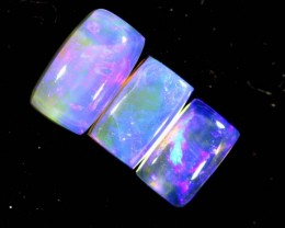 1.35 CTS CRYSTAL OPAL POLISHED PARCEL 3PCS TBO-7241
