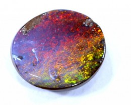 1.0 CTS Natural Australian Boulder Opal Solid Stone C-415