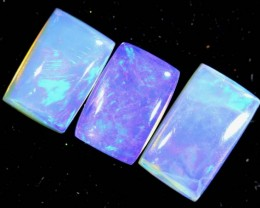 1.60 CTS CRYSTAL OPAL POLISHED PARCEL 3PCS TBO-7247