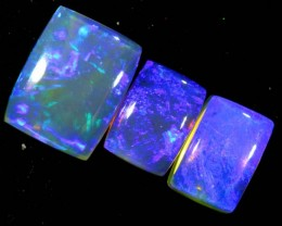 3.95 CTS CRYSTAL OPAL POLISHED PARCEL 3PCS TBO-7256