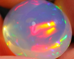 7.93Ct Splendid Rainbow Broadflash Ethiopian Welo Specimen Crystal Opal
